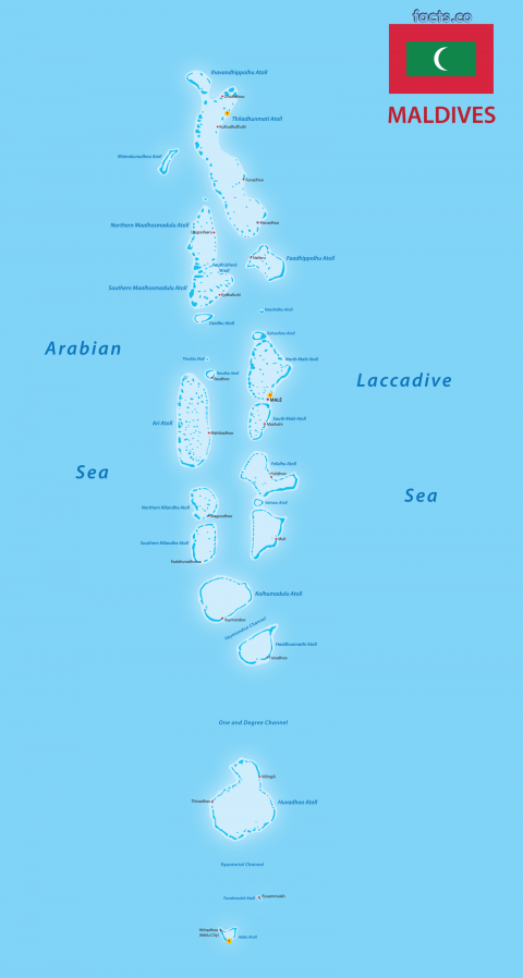 MaldivesPoliticalMap